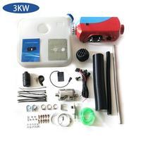 12V 3Kw calentador de aire Diesel calentador de estacionamiento calentador de aire coche camión barco calentador de aire Universal rojo azul|Piezas del calentador| |  -