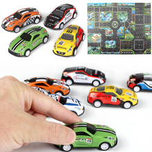 Little Toy Cars Kids SUV Racing Model Toys Racing Car for Boys Traffic Building Bauble Children Playing Traffic City Play Mat