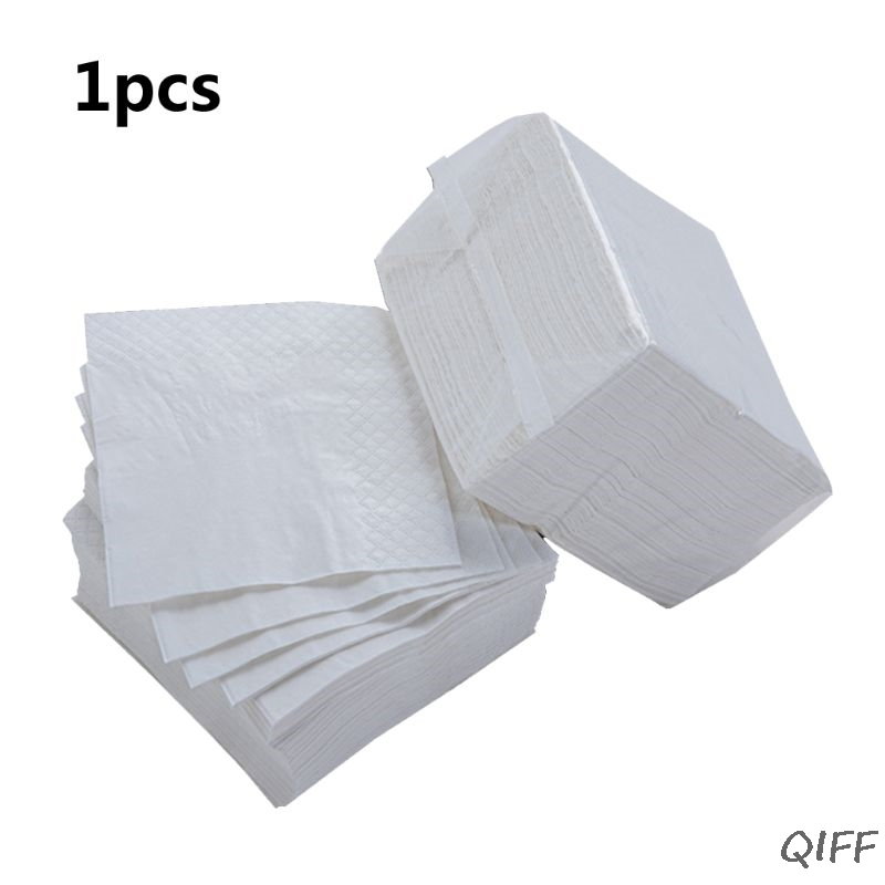 1Pc Additives-Free Wood Pulp 90 Sheets/Bag Toilet Paper Napkin Toilet Tissues