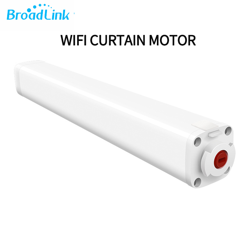 Broadlink Wifi Curtain Motor ,app Control ,remote Control For Smart Home