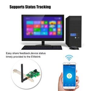 Image 5 - EWeLink, tarjeta de inicio remota por ordenador, Control remoto, interruptor WIFI inalámbrico para el trabajo en computadora con Google Home y Alexa