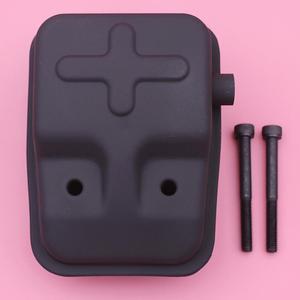 Silenciador do escape w parafusos kit para cg430 1e40f-5 40-5 trimmer cortador de escova peças de motor motosserra