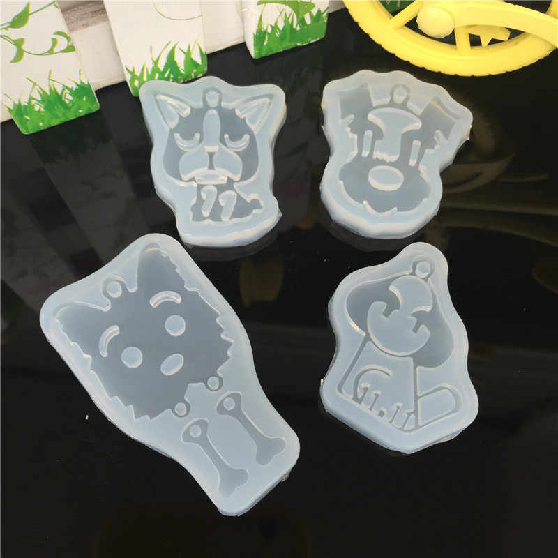 DIY Puppy Dog Musical Note Cake Molds for Fondant Jello Jelly Sugar Ice Soap Moulds Cake Decorating Tools Kitchen