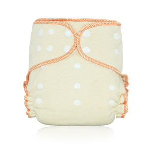 Image 5 - HappyFlute OS Hemp Fitted Cloth  Diaper,AIO each diaper with a snap insert, high absorbency, fit baby 5 15kgs