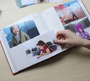 Image 5 - يحمل 200 صور زلة 6 بوصة مذكرة ألبوم صور دفتر الذاكرة صورة إدراج ألوم للأطفال عشاق الأسرة