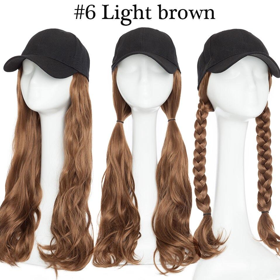 longa cabelo integrar o tampão com o cabelo para a festa da menina