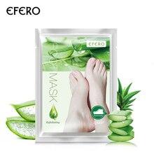 2pcs=1pair Mask Exfoliating Foot Mask Socks for Pedicure Peeling Dead Skin Remover Feet Mask PeelPeeling Mask TSLM2