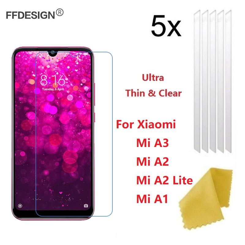 5pcs Protective Screen Protector Film For <font><b>Xiaomi</b></font> Mi A3 A2 Lite <font><b>A1</b></font> (Not <font><b>Glass</b></font>) Screen Protection Foil image