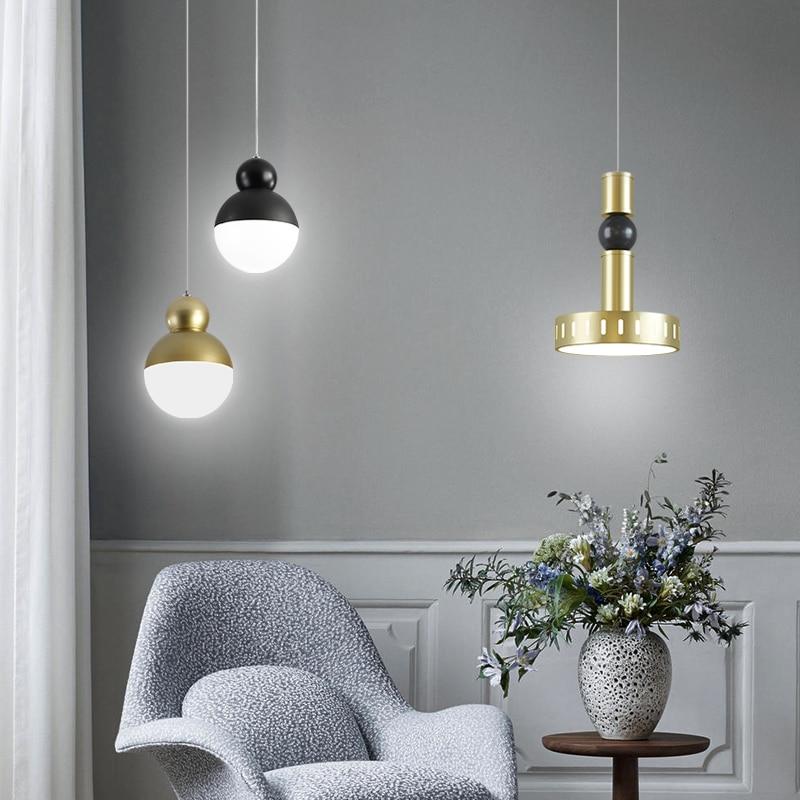 Bedside chandelier Nordic simple ...