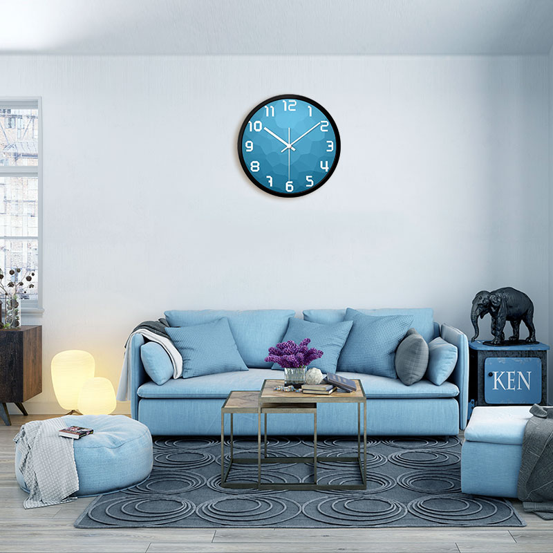 Wall Clock Living Room Bedroom Creative Simple Modern Mute Clock Nordic Style Fashionable Simple Silent Wall Clocks Home Decor
