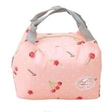 2021 najnowszy worek na Lunch izolowany zimny pasek na płótnie piknikowy futerał do przenoszenia termiczne przenośne pudełko na Lunch tanie tanio PŁÓTNO CN (pochodzenie) 2 OSOBY patterns bags Canvas + Aluminum insulated lunch bag