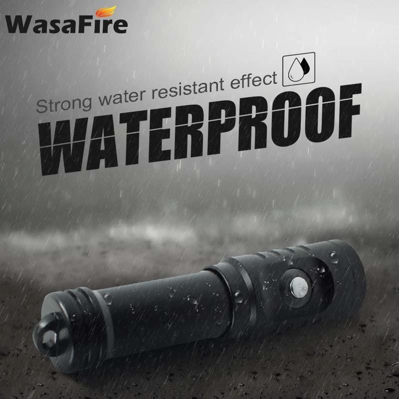2019 New Lantern Hunting Scuba Underwater Flashlight XM-L2 Waterproof Led Lamp Professional Diving Flashlight 18650 Lights Torch