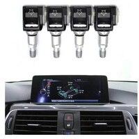 4 PCS Auto Reifendruck Monitor Sensor TPMS FÜR BMW 3 5 G30 G31 G11 G12 G01G38 X3 X4 X5
