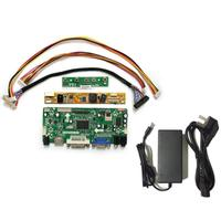 Latumab New LCD LED Controller Board Driver kit for LTN154X3 L01 HDMI + DVI + VGA+ Charger Power Cord 12V 3.3A AC DC