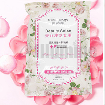 Rose Essential Oil Facial Modeling Peel Off Mask Powder 800g Water Supplementary Aromatherapy Rose Soft Powder
