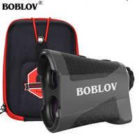 BOBLOV K600G 600m Golf télémètre 6X Golf distance chasse monoculaire télémètre Laser télémètres golf afstandsmètre avec sac