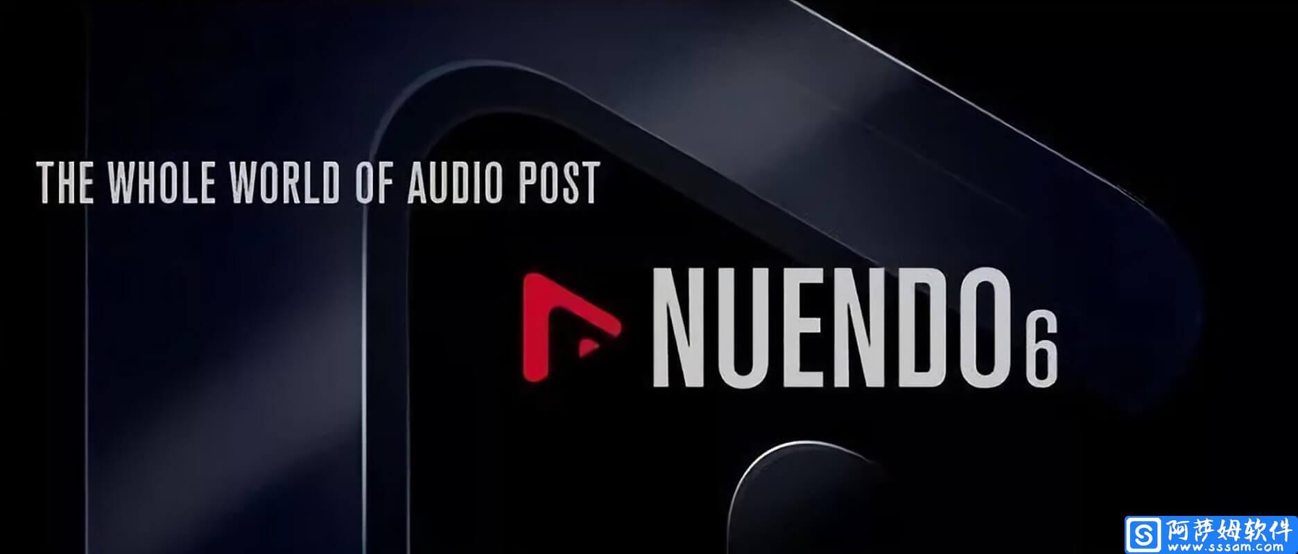 Nuendo 6 专业的音频制作软件免费版