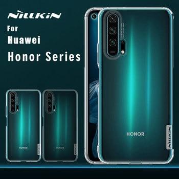 Coque Nillkin pour Huawei Honor 20 Pro 20 10 9 coque en ptu 0.6mm coque Silicone Ultra fine coque téléphone pour Huawei Honor 20 10 9 coque Pro