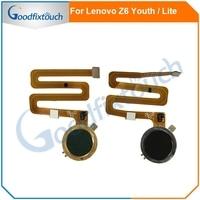 Für Lenovo Z6 Lite / Z6 Jugend L38111 Fingerprint Sensor Home Button Key Flex Kabel Scanner Touch ID telefon teile Original