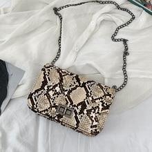 Luxury Handbags Women Bags Designer Serpentine Small Square Crossbody