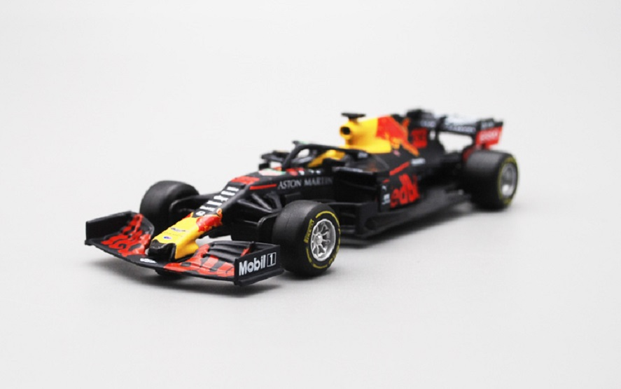 BBURAGO 1:43 2019 Red Bull RB15 <font><b>Modell</b></font> Racing AUTO #33 NEUE IN BOX image