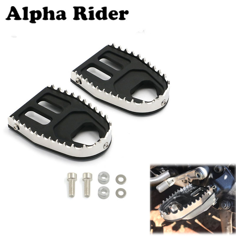 Motorcycle Front Rear Foot Pegs Footrest For Honda CRF1000L Africa Twin DCT  20142 2015 2016 2017 2018