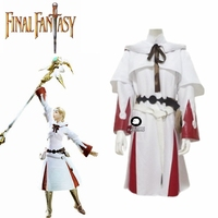 Game Final Fantasy XIV 14 White Mage Cosplay Outfit Adult Halloween Women Cosplay Costume Custom Made