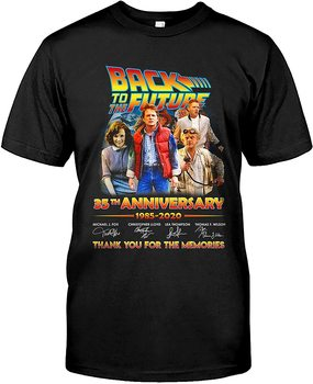 Comedy Movie Back to The Future 35th Anniversary Men's T-Shirt. Summer Cotton Short Sleeve O-Neck Unisex T Shirt New S-3XL giant bicycles mountains bikes t shirt s to 3xl
