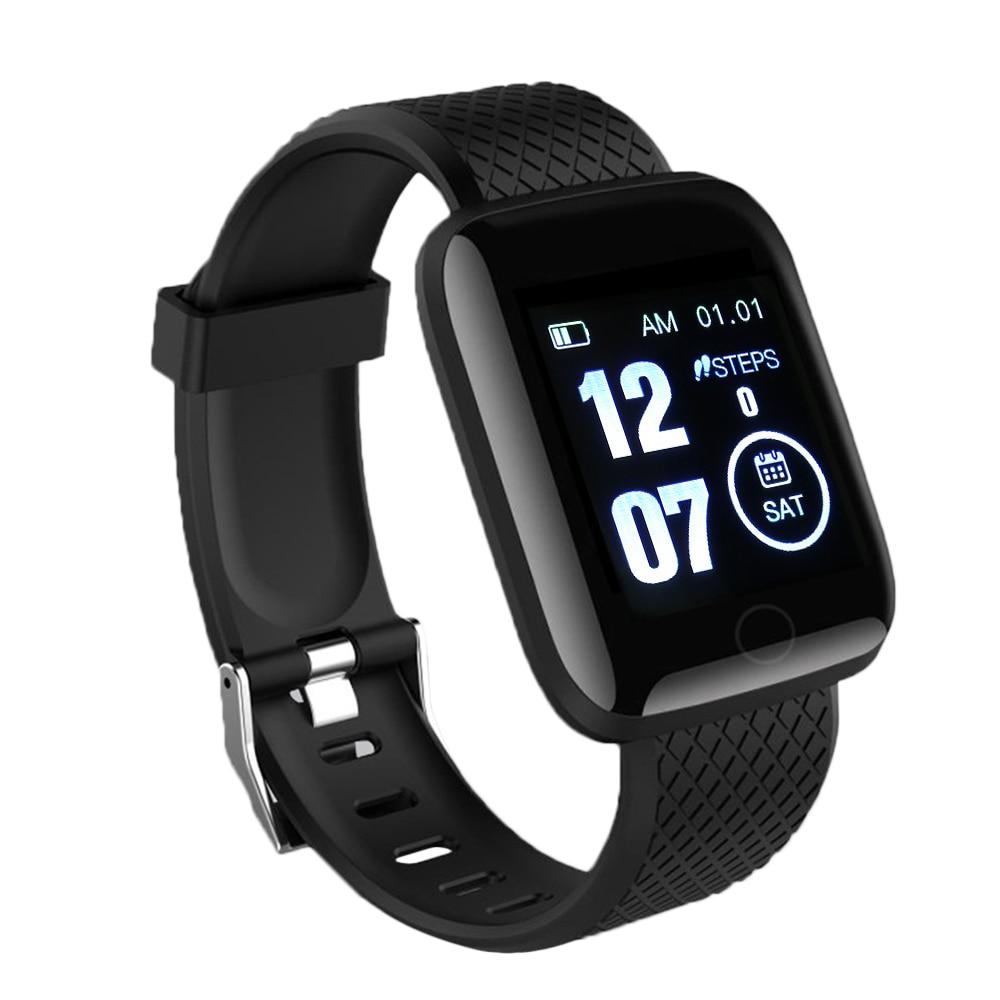 2019 mais novo 116 além de relógio inteligente ligação toque esporte fitness bluetooth pulseira inteligente smartwatch