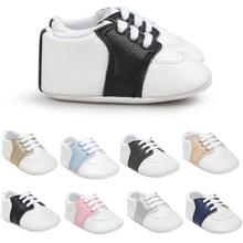 2020 New Fashion Baby Boy Girl Toddler Shoes Soft Bottom Anti-slip PU Leather First Walker Shoes for Baby Spring Autumn Shoes