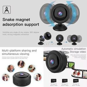 Image 3 - WIFI Mini กล้อง 1080P HD Gizli Kamera กล้องวงจรปิด IP CAM Night Vision Motion Sensor Magnetic Body Microcamera กล้องวิดีโอ