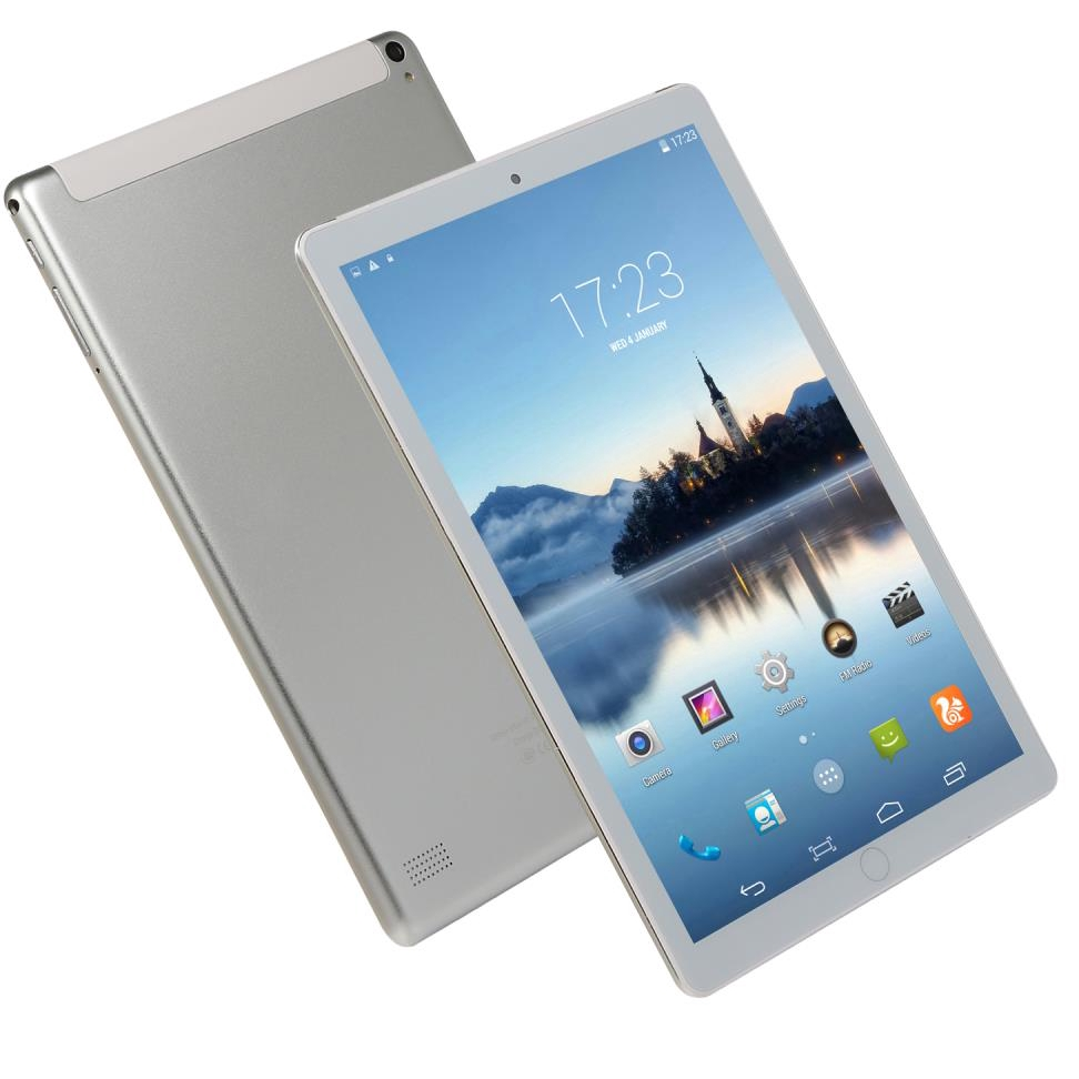 10.1 Inch Ten Core Anrdoid 8.0 Tablet PC 6G+128GB  4G Call Phone Tablet WiFi GPS Bluetooth Dual SIM 1280*800 IPS Screen