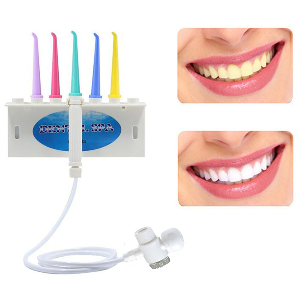 Portable Dental SPA Oral Irrigator Teeth Care Toothbrush Set Dental Irrigator Water Flosser Teeth Whitening Toothbrush Cleaning