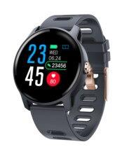 Willgallop S08 inteligentny zegarek Ip68 wodoodporny tętno inteligentny zegarek do monitorowania smartwatch Bluetooth Monitor aktywności fizycznej zespół