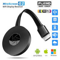 Mirascreen G2 tv stick Wireless HDMI display for google chromecast 2 audio 1080p miracast airplay dongle for ios android pc