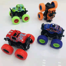 Children's inertia four-wheel drive off-road vehicle shockproof shock absorber boy simulation toy stunt swing bigfoot car model four wheel drive off road vehicle simulation model toy car model baby toy car gift