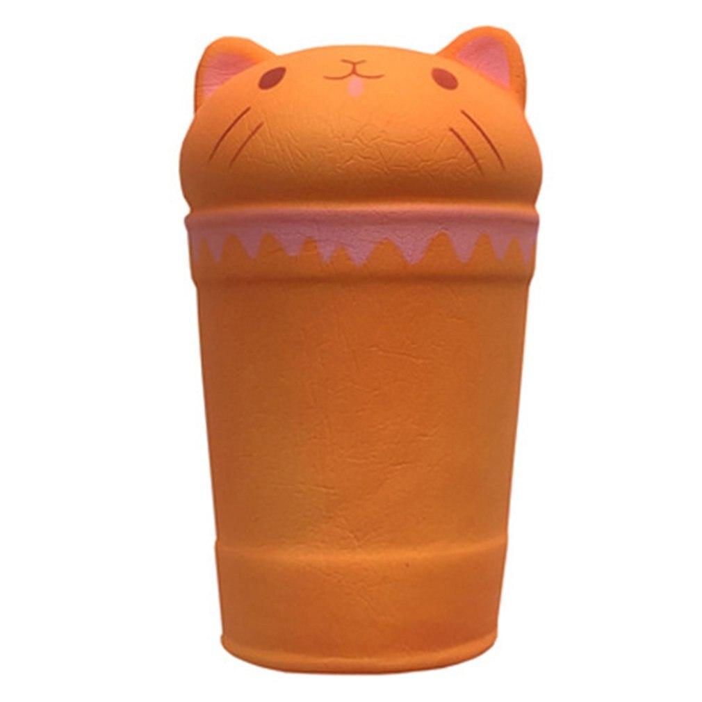Мягкий медленно отскакивающий Обесцвеченный катетер кофейная чашка игрушка для снятия стресса игрушка лучший подарок на Рождество и день