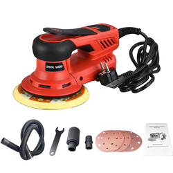 350W  Electric Car Random Orbital Sander Machine Multi-function Woodworking Corners Polisher Variable Speed Corded Sanders