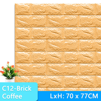 3D Wall Stickers Marble Brick Peel and Self-Adhesive Wall paper Waterproof DIY Kitchen Bathroom Home Wall Decal Sticker Vinyl 17