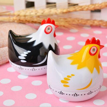 Hen Shape Kitchen Timer Manual Mechanical Food Cooking Timers
