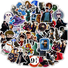 50PCS Classic Magic Movie Cool Sticker Funny Anime Waterproof for Laptop Scrapbook Scooter Reward Sticker Bomb Toys for Children