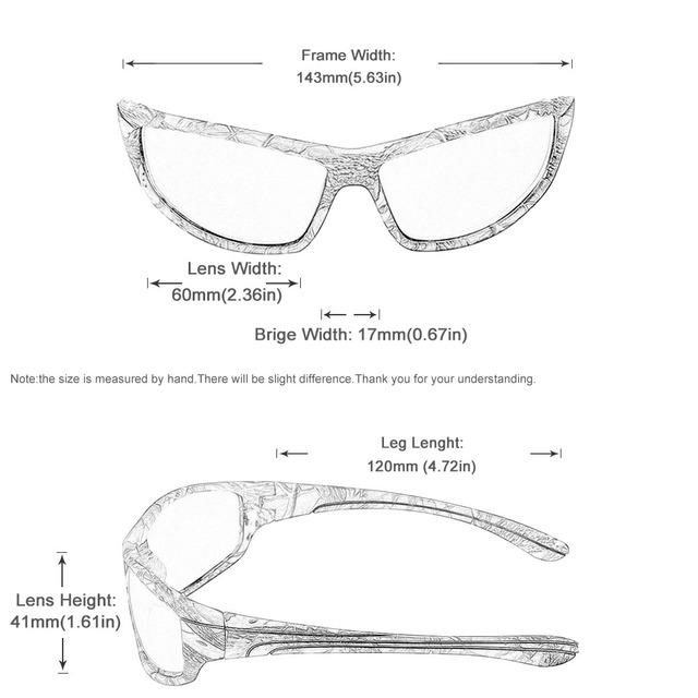 Mens Sport Camo Sunglasses