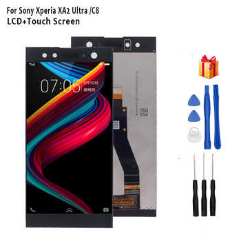 For Sony Xperia C8 H4233 H4213 H3213 LCD Display Touch Screen Digitizer Phone Accessories For SONY Xperia XA2 Ultra Display LCD