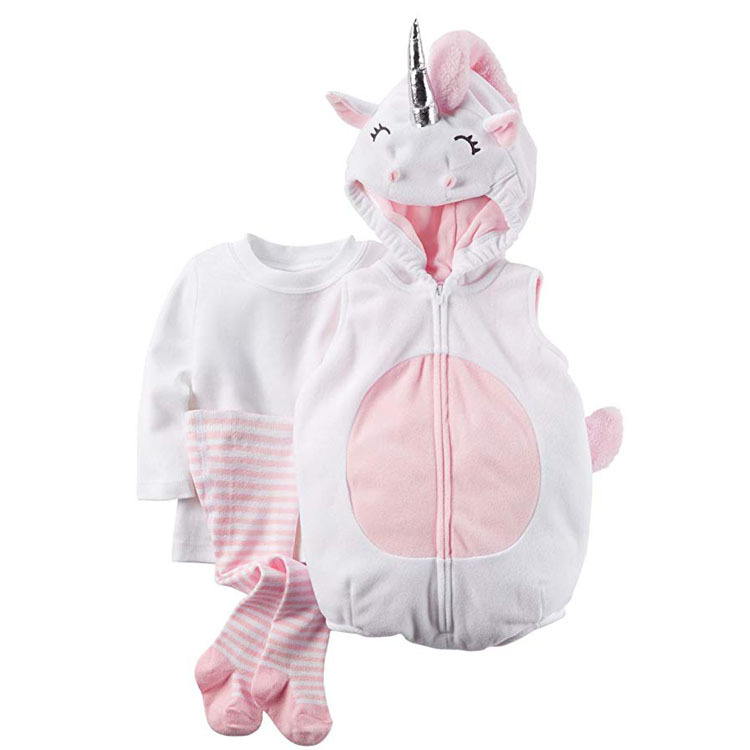 Одежда для маленьких девочек; карнавальный костюм на Хэллоуин с изображением единорога и фруктов; Одежда для новорожденных мальчиков; Рождественский подарок; комплект одежды для младенцев