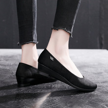Flats-Shoes Boat Work-Cloth Office Women's Sweet-Loafers Fashion Pregnant-Women