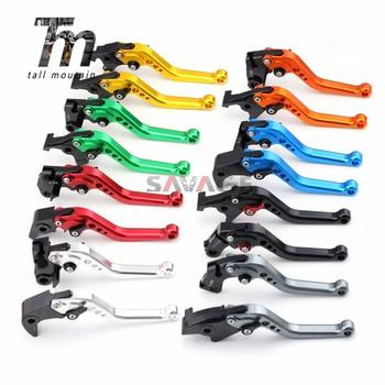 цена на Short/Long Brake Clutch Levers For KAWASAKI Z750 Z750S ER6N ER6F ZRX400 ZXR400 ZZR 400/600 ZR750 ZEPHYR GPZ500S W800 Motorcycle