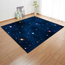 Nordic Galaxy Space Stars Carpet Kids Play Room Bedroom Decoration Mat Area Rug Girls Big Carpets for Home Living