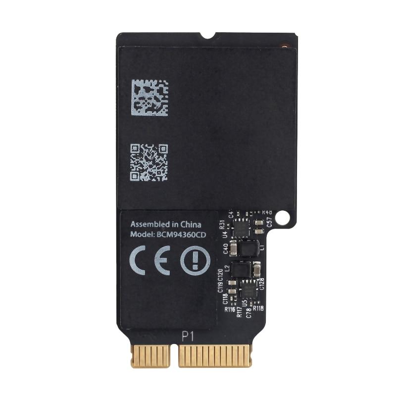 For Broadcom BCM94360CD 802.11ac Wireless-AC Wifi Bluetooth Mini PCI-E 1300Mbps WLAN +  BT 4.0 Card For Apple 21.5