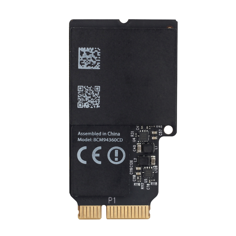 "Wireless-AC Adapter For Broadcom BCM94360CD 802.11ac Wifi bluetooth Mini PCI-E 1300Mbps WLAN + BT 4.0 Card For 21.5""/27"" iMac(China)"