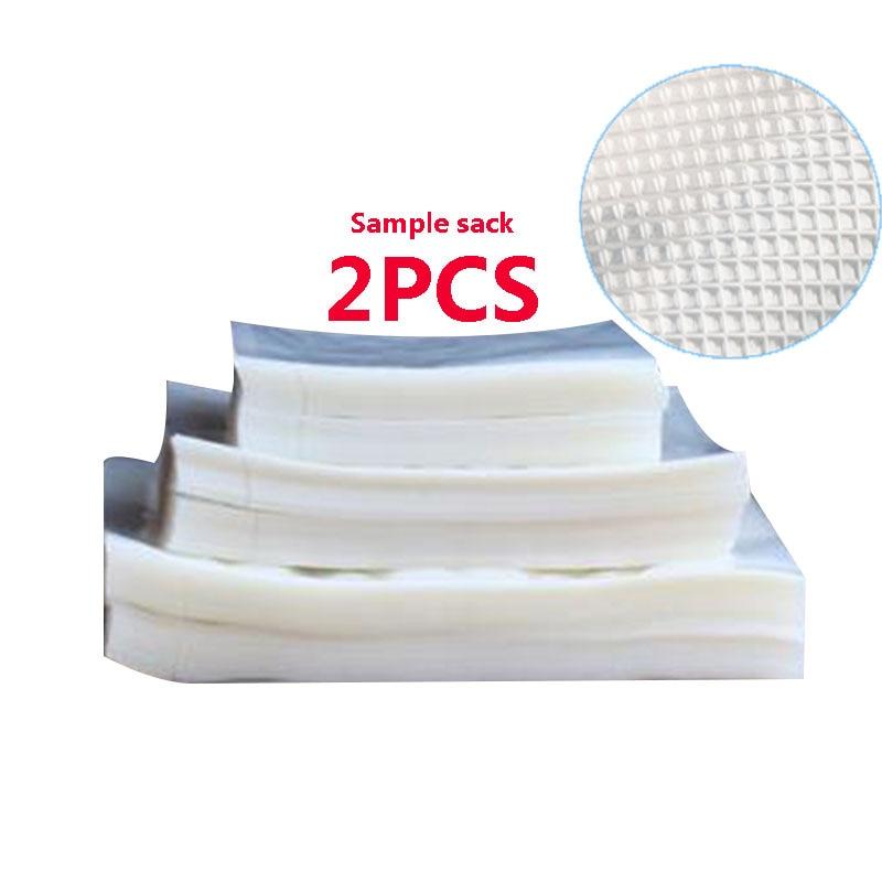 2 pçs/lote Cozinha Aferidor do Vácuo De Alimentos Saco de Embalagem Saco De Plástico a Vácuo Sacos de Armazenamento De Alimentos Aferidor Do Vácuo casa Acessórios de Cozinha